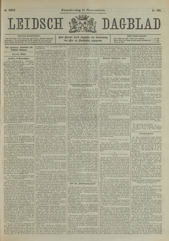 Leidsch Dagblad 1911-11-09
