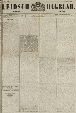Leidsch Dagblad 1870-07-12