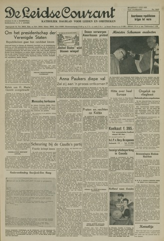 Leidse Courant 1952-07-07