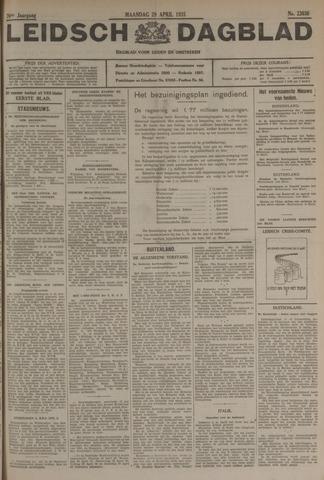 Leidsch Dagblad 1935-04-29