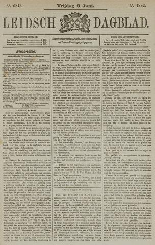 Leidsch Dagblad 1882-06-09