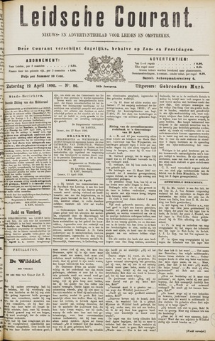 Leydse Courant 1890-04-12