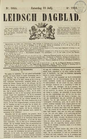 Leidsch Dagblad 1863-07-18