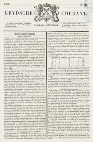 Leydse Courant 1855-09-24