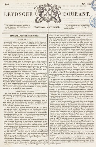 Leydse Courant 1846-11-04