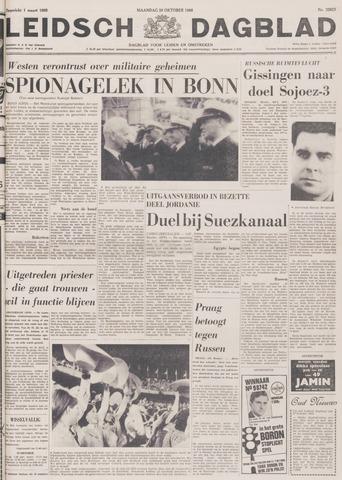 Leidsch Dagblad 1968-10-28