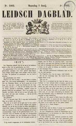 Leidsch Dagblad 1863-06-01