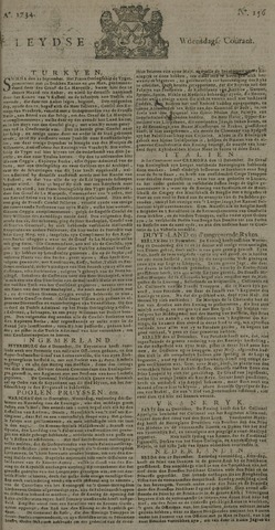 Leydse Courant 1734-12-29
