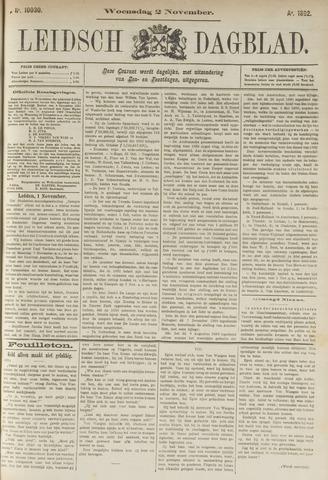 Leidsch Dagblad 1892-11-02