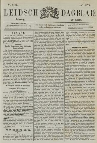 Leidsch Dagblad 1875-01-30
