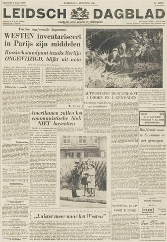 Leidsch Dagblad 1961-08-05