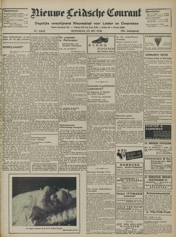 Nieuwe Leidsche Courant 1938-05-25