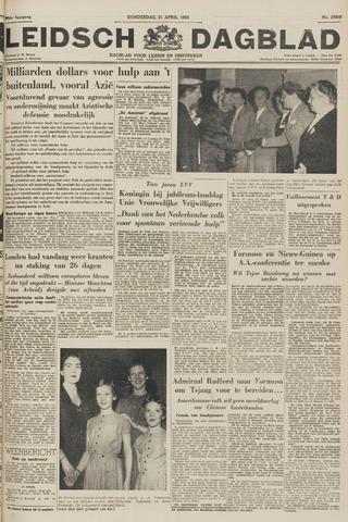 Leidsch Dagblad 1955-04-21