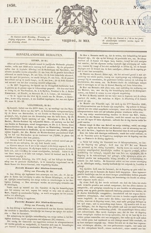 Leydse Courant 1850-05-31