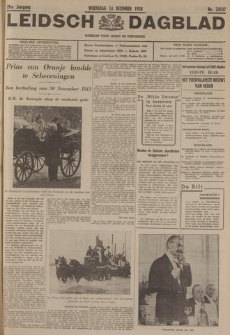 Leidsch Dagblad 1938-12-14