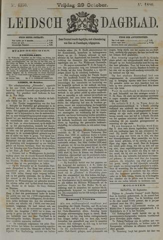 Leidsch Dagblad 1880-10-29