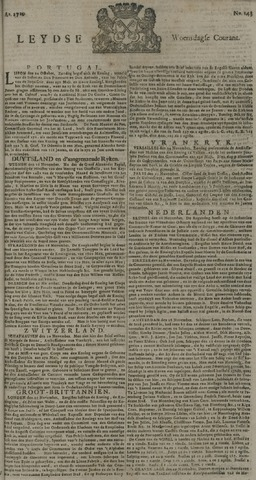 Leydse Courant 1729-11-30