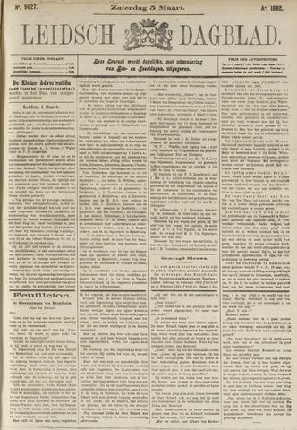 Leidsch Dagblad 1892-03-05