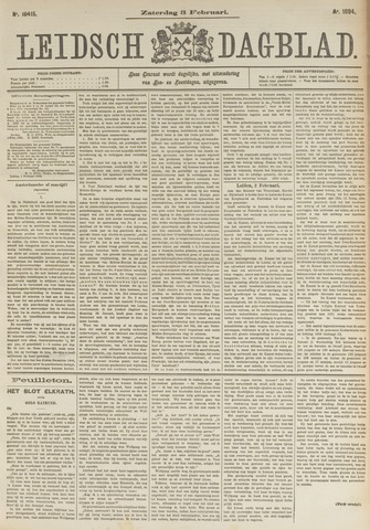Leidsch Dagblad 1894-02-03