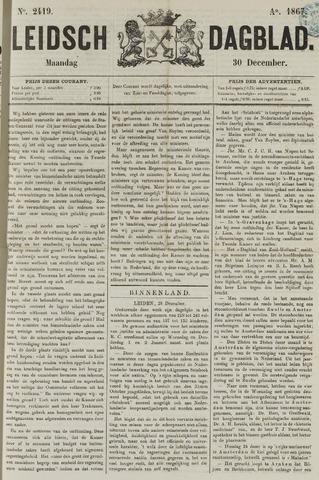 Leidsch Dagblad 1867-12-30