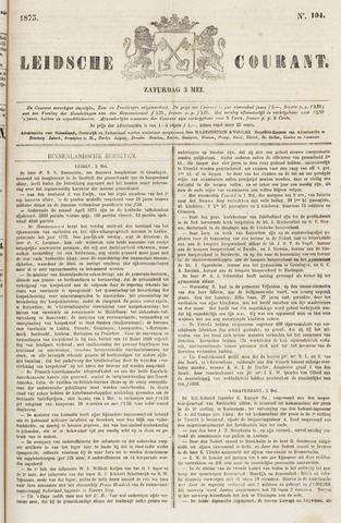 Leydse Courant 1873-05-03