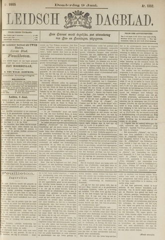 Leidsch Dagblad 1892-06-09