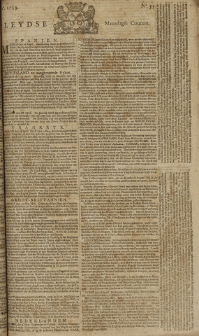 Leydse Courant 1753-05-07