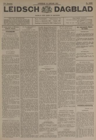 Leidsch Dagblad 1935-01-16