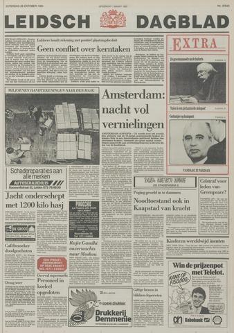 Leidsch Dagblad 1985-10-26