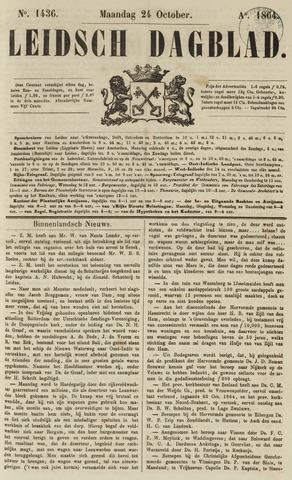 Leidsch Dagblad 1864-10-24