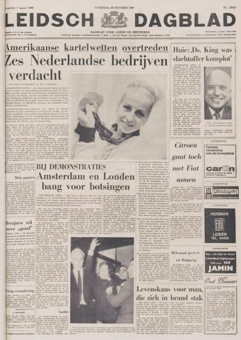 Leidsch Dagblad 1968-10-26