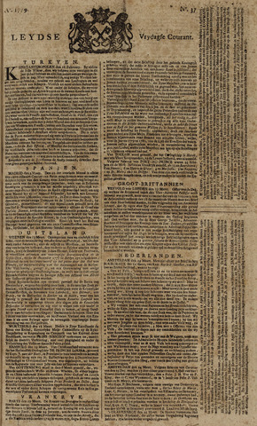Leydse Courant 1779-03-26