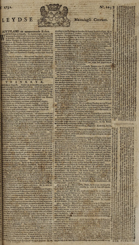 Leydse Courant 1752-08-28