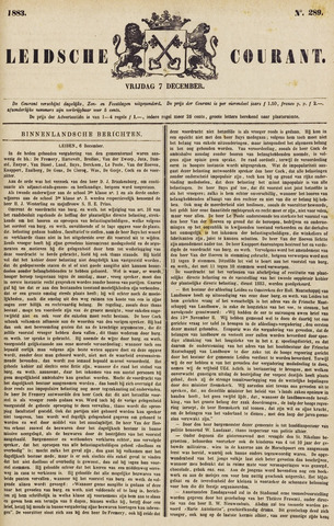 Leydse Courant 1883-12-07