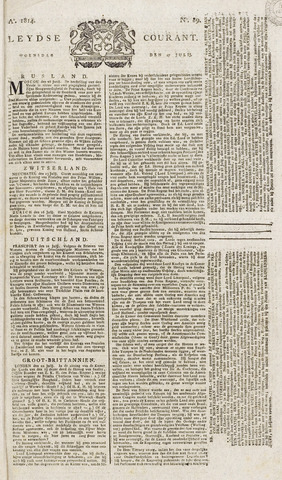 Leydse Courant 1814-07-27