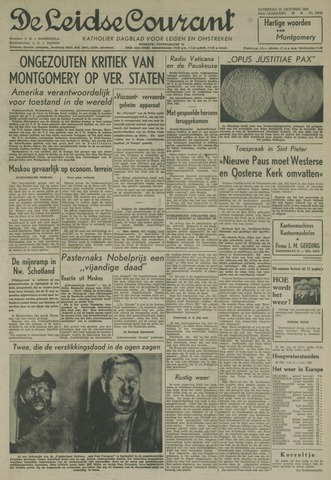Leidse Courant 1958-10-25