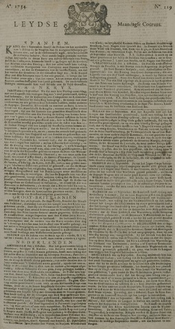 Leydse Courant 1734-10-04