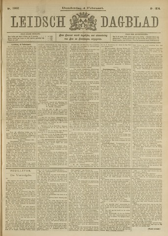 Leidsch Dagblad 1904-02-04