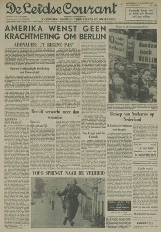 Leidse Courant 1961-08-17