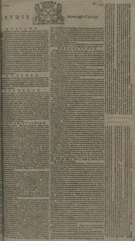 Leydse Courant 1744-11-02