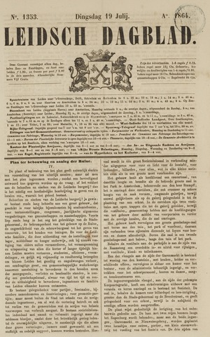 Leidsch Dagblad 1864-07-19
