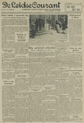Leidse Courant 1950-05-01