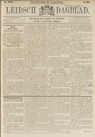 Leidsch Dagblad 1893-08-31