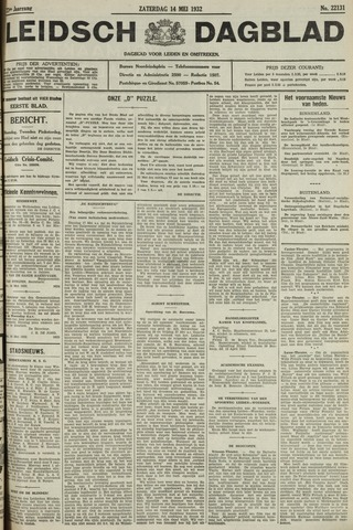 Leidsch Dagblad 1932-05-14