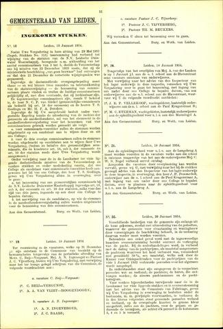 Handelingen van de Raad 1934-01-18