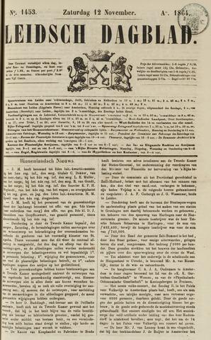Leidsch Dagblad 1864-11-12