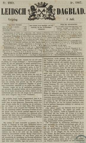 Leidsch Dagblad 1867-07-05