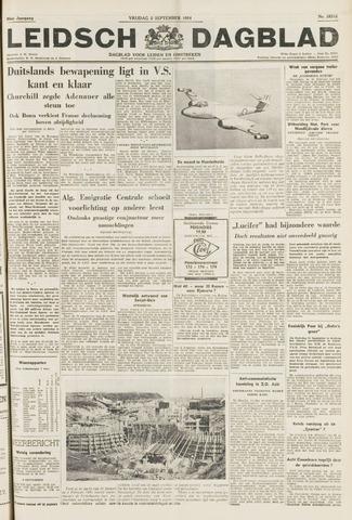 Leidsch Dagblad 1954-09-03
