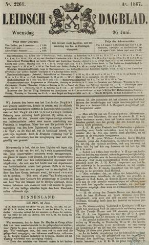 Leidsch Dagblad 1867-06-26
