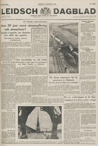 Leidsch Dagblad 1955-08-09